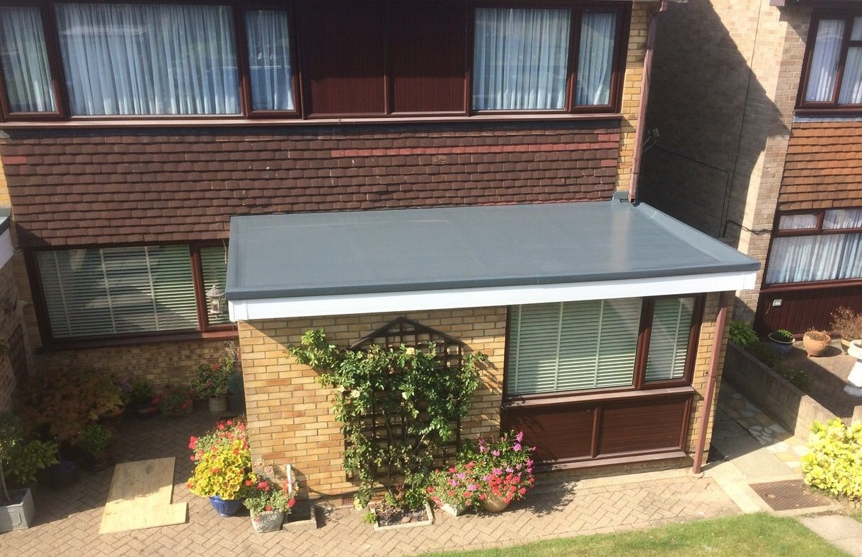 House Flat Roof Porch Uk   Google Search