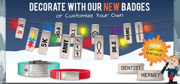 New Road ID Badges & Custom Badges - Brag & Represent your Passions