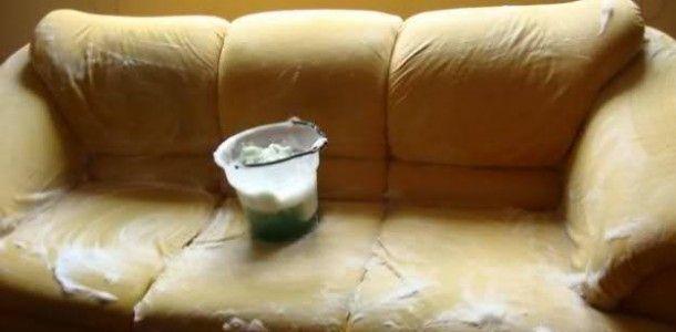 Limpar sofa