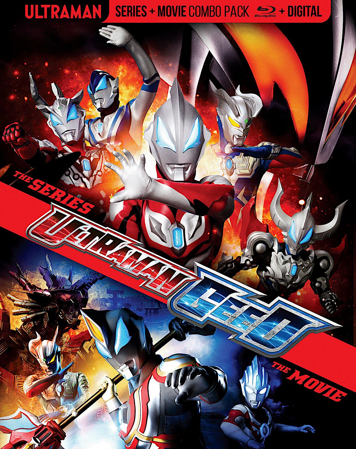 ULTRAMAN GEED THE MOVIE BLURAY (MILL CREEK) Cover
