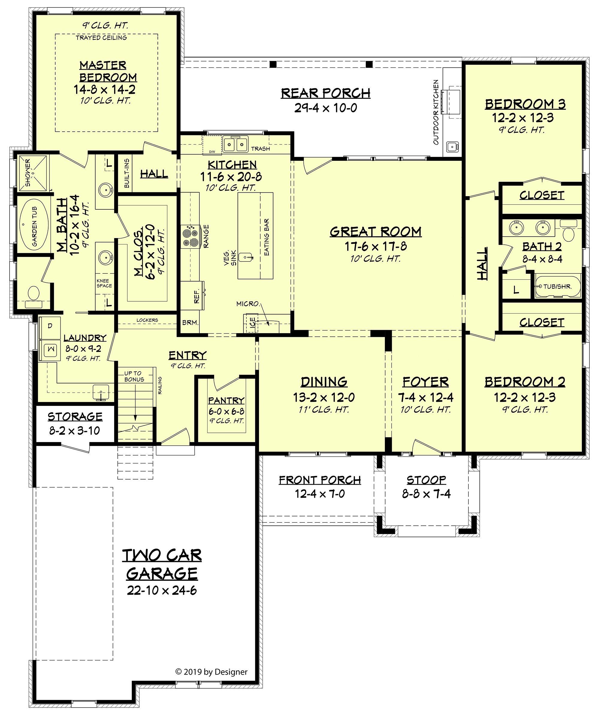 House Plan 041 00192 Modern Farmhouse Plan 2 165 Square Feet 3 4 Bedrooms 2 Bathrooms Farmhouse Style House Plans Modern Farmhouse Plans American Houses
