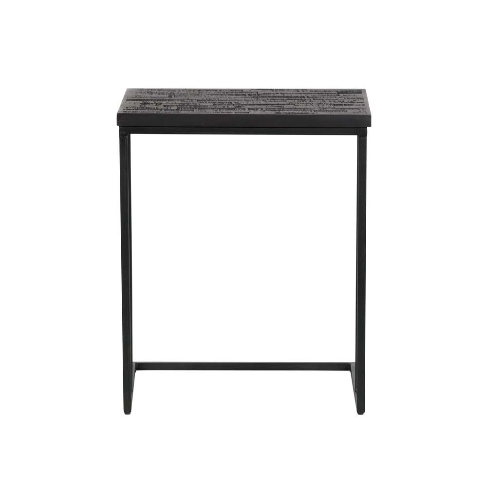 Beistelltisch Stig Holz Metall Tisch Metalltische Und Haus Deko