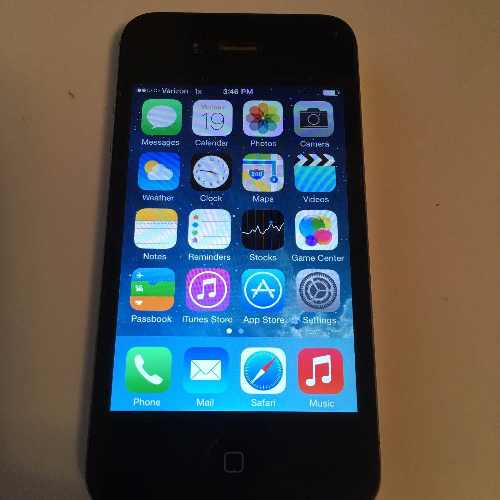 Apple iPhone 4 32 GB Verizon A1349 eBay Iphone, Apple