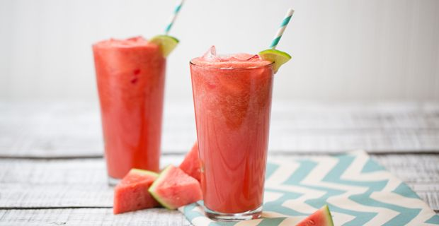 Watermelon and line combine for a delightful beverage perfect for a summer afternoon!