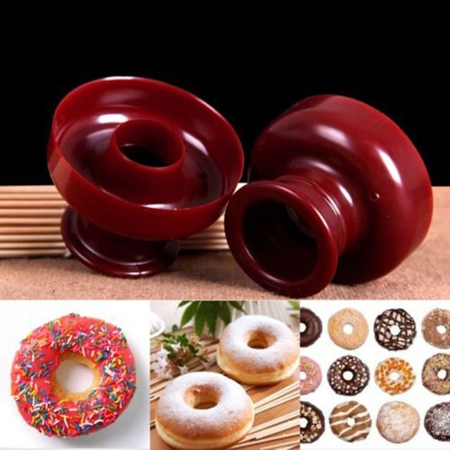 Donut Cake Mold Maker Cutter Fondant Cake Bread Desserts Bakery Mould Tool DIY