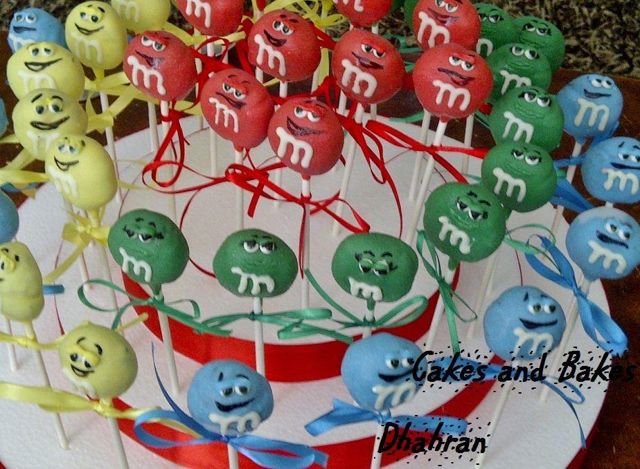 M and M character cake pops!!헬로카지노 핼로카지노/// FKFK14.COM //// 헬로바카라 핼로바카라