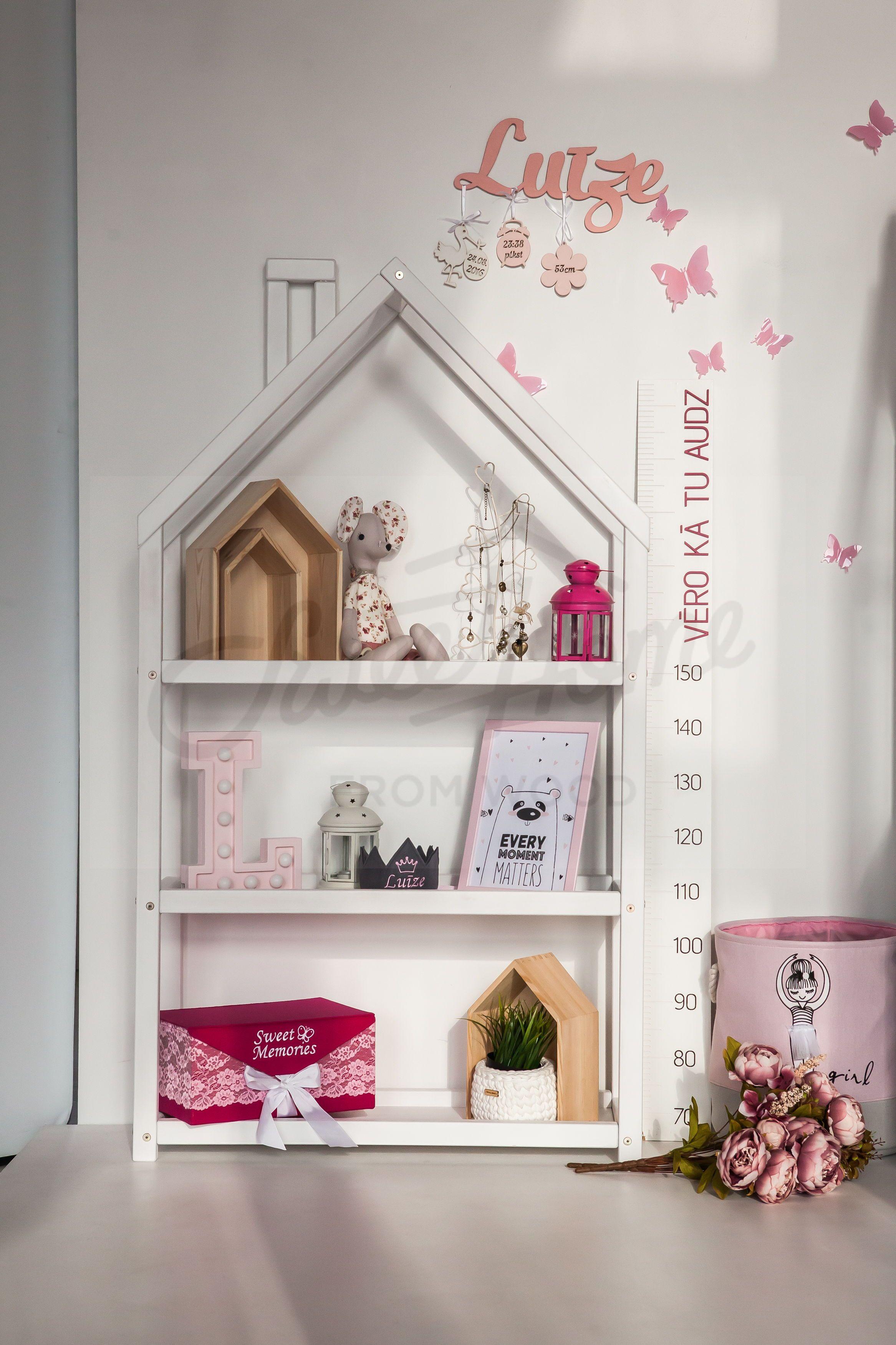 Kids Bedroom House Shaped Shelf Or Wooden House Shelf Nursery Shelf Kids Room Accessories Nursery Shelves House Shelves