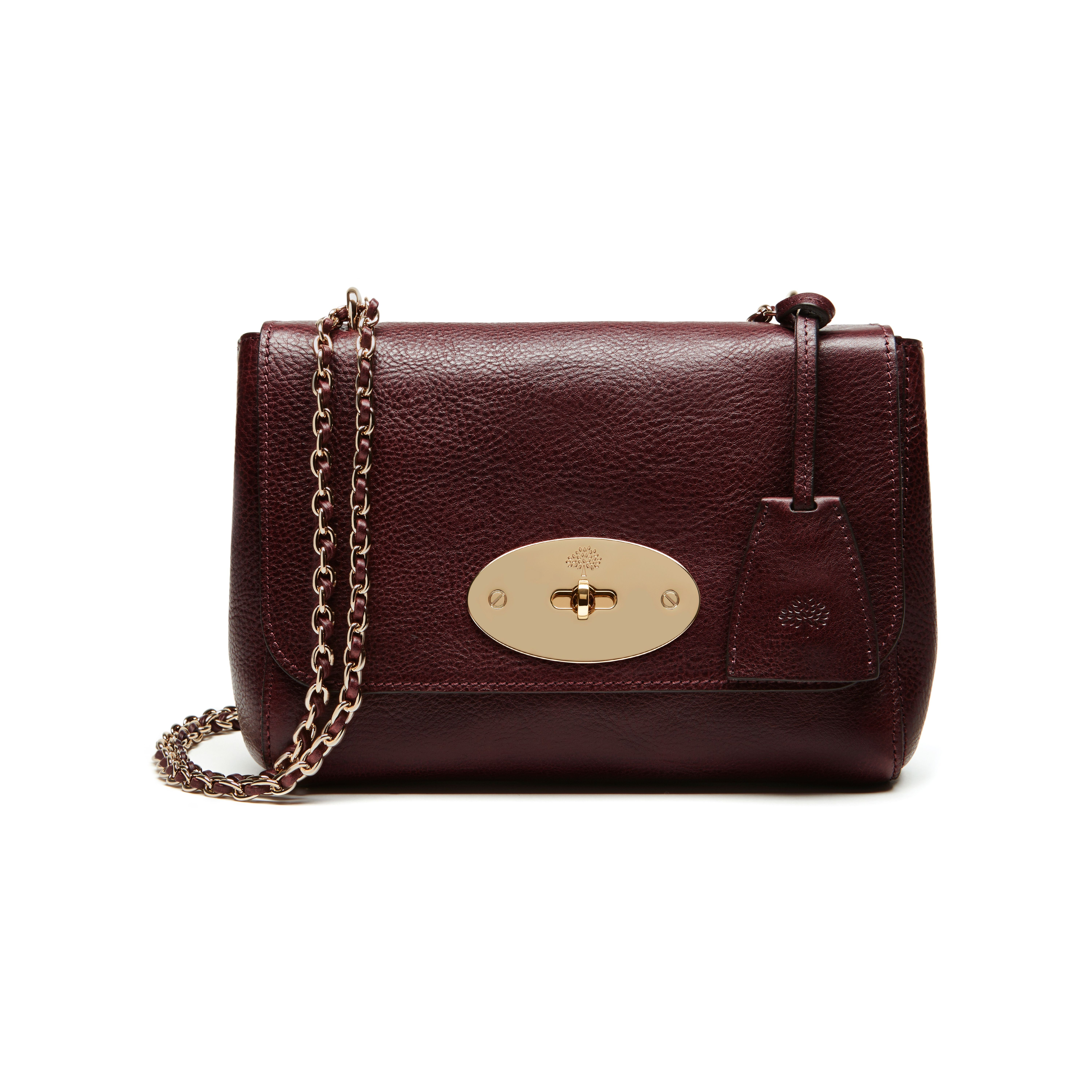 936a9b10f5 Mulberry Style Signatures - Lily in Oxblood Deep Embossed Croc Print ...