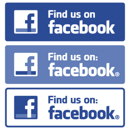 Find us on Facebook logo Vector EPS Free Graphics