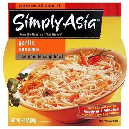 Simply Asia Garlic Sesame Rice Noodles (6x2.5Oz)