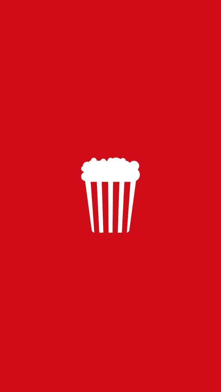 Popcorn Minimalistic Iphone Wallpapers Mobile9 Minimal Imagem De Fundo Para Iphone Arte Nas Paredes Wallpaper