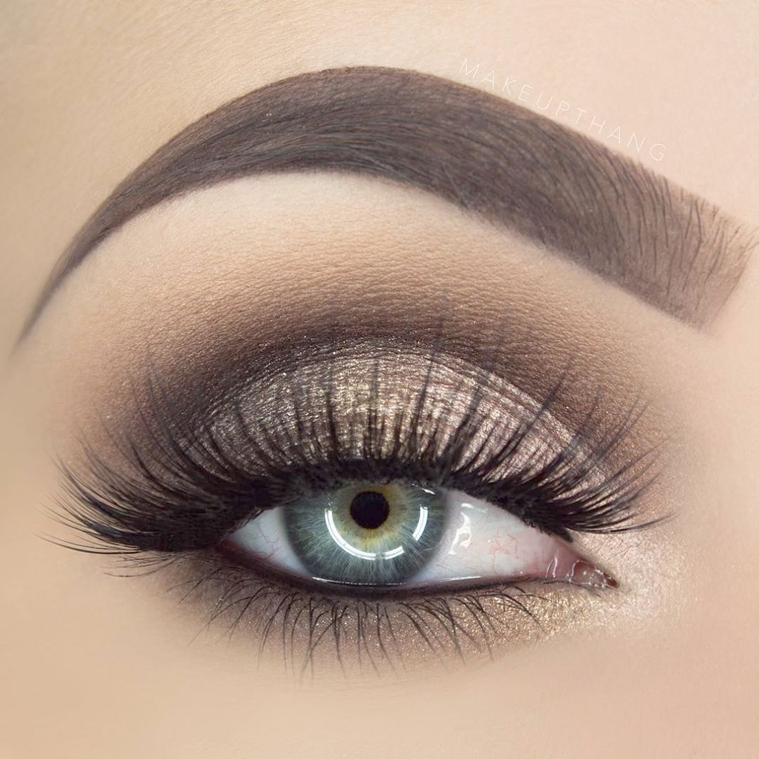 Check This Out Eye Makeup For Blue Eyes Tutorial Smokey Eye Makeup Red Dress Makeup Eye Makeup Steps