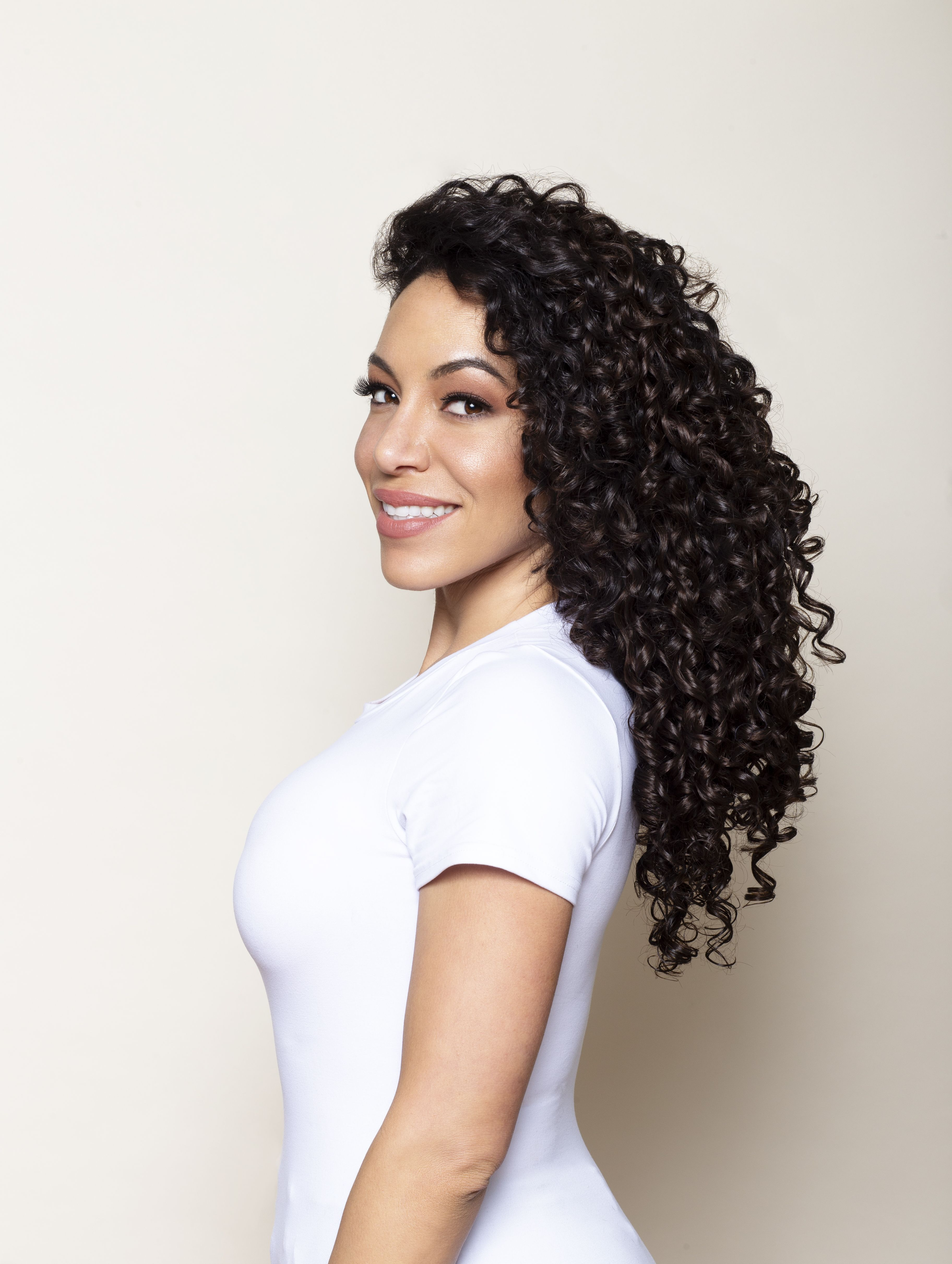 Curly curly clip ins clip in hair extensions