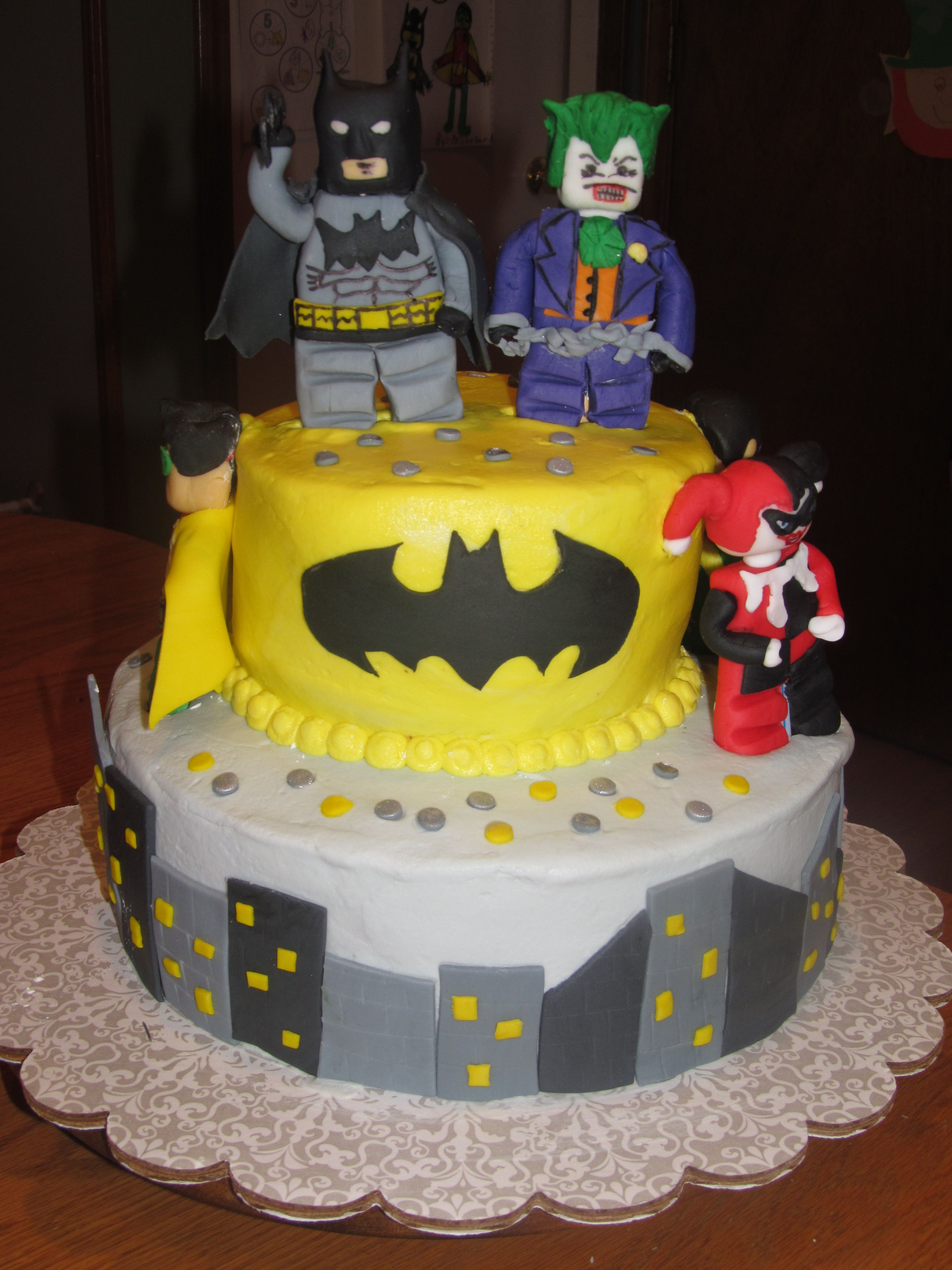 Lego Batman cake Michelles Cakes Pinterest Lego batman cakes