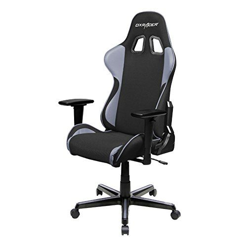 Wonderful DXRacer FH11NG Black Gray Formula Series Racing Bucket Seat Office Chair  Gaming Ergonomic With Lumbar Support