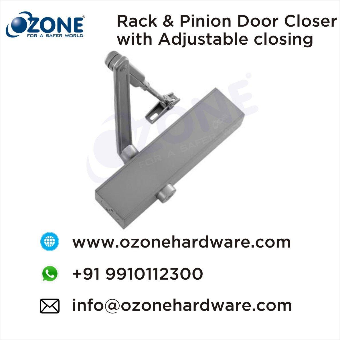Rack Pinion Door Closer With Adjustable Closing Manufacturers Of Door Closers Door Technology Closed Doors Door Closers Metal Door