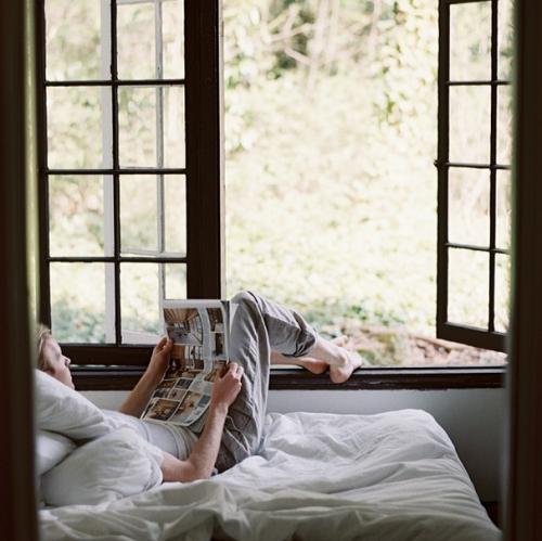 The place to unwind, detach, relax, and clear your mind… A good #nook is hard to come by. @dabito, @kinfolk, @pamther, and @sfgirlbybay know how to set the vibe.