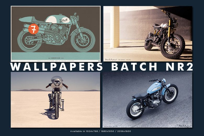 A terrific set of four images from Deus Ex Machina, Australia's top custom motorcycle builder.