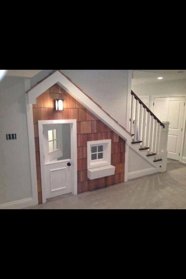 Indoor playhouse!