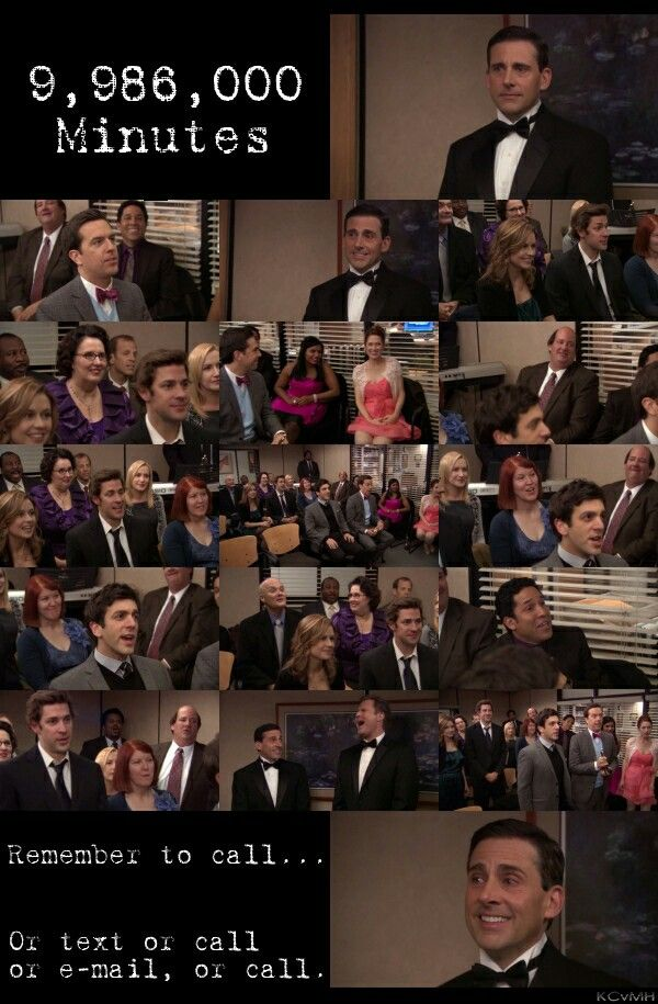9 986 000 Minutes The Michael Scott Farewell Song One Of The