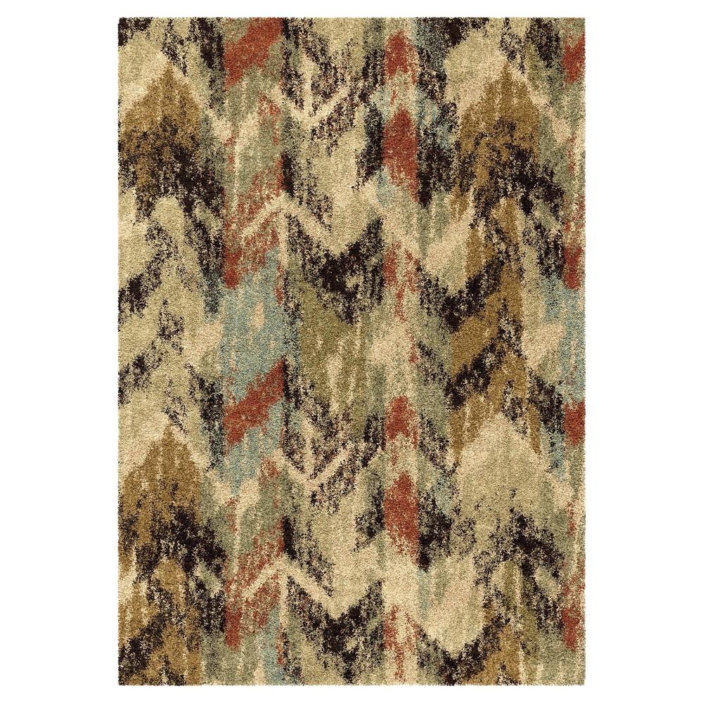 "Multicolor Abstract Woven Area Rug - (7'10""X10'10"") - Orian,"