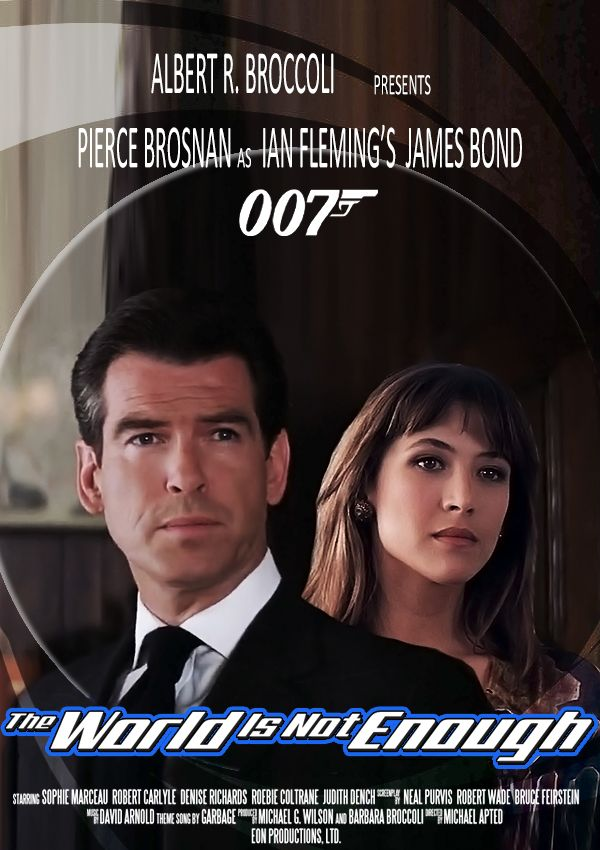 The World Is Not Enough Jamesbondfanart Piercebrosnan Pierce