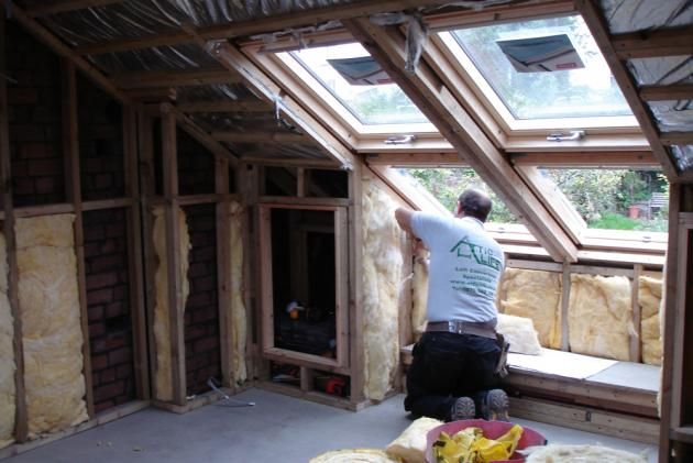 Attic Conversion Before And After Converted Lofts Need Insulation But You Need To Think About Attic Renovation Loft Conversion Attic Remodel