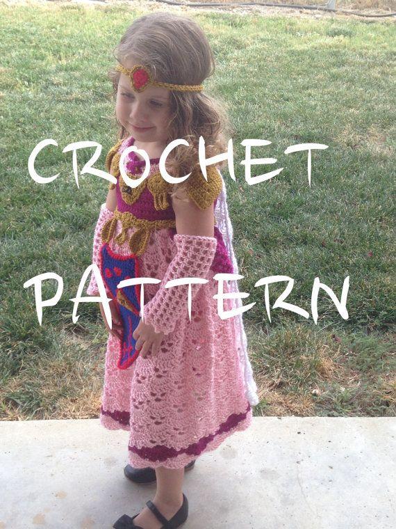 CROCHET PATTERN, This is NOT the Dress! - Princess Zelda Costume ...