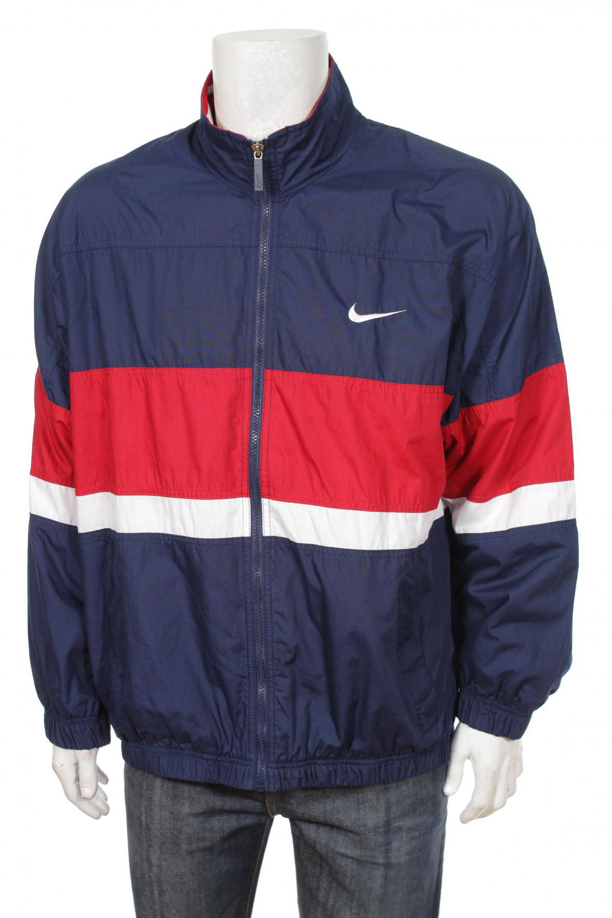 1362ad1eb White Windbreaker, Nike Windbreaker Jacket, Nike Jacket, Vintage Nike, Red  And White