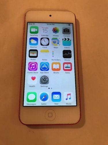 Apple iPod touch 5th Generation Red (32GB) https://t.co/sRn2NitHG2 https://t.co/rLxz8qfQea