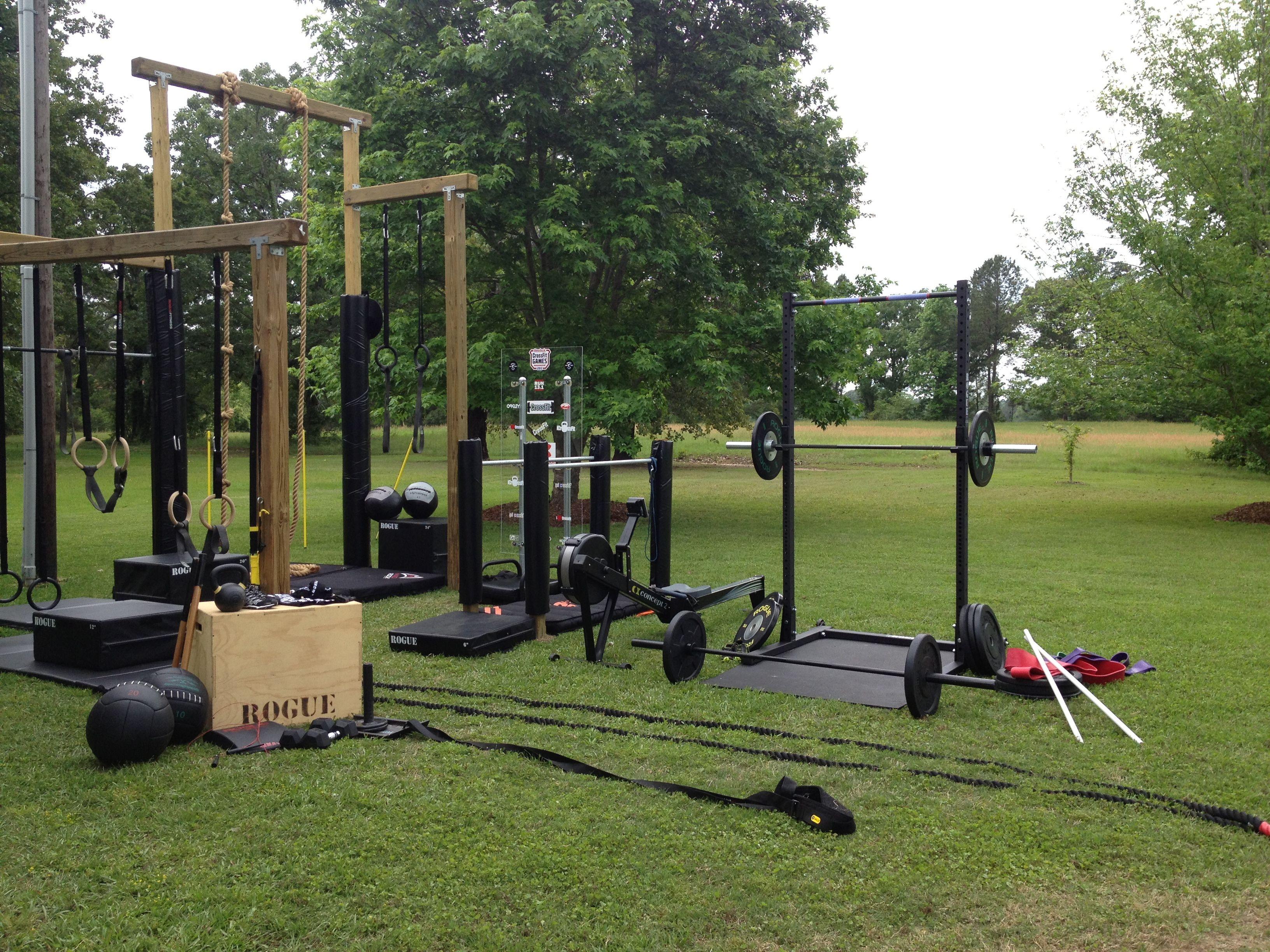 Backyard Gym Shed :  Gym Ideas Gorgeous outside home gym outside gym backyard gym shed
