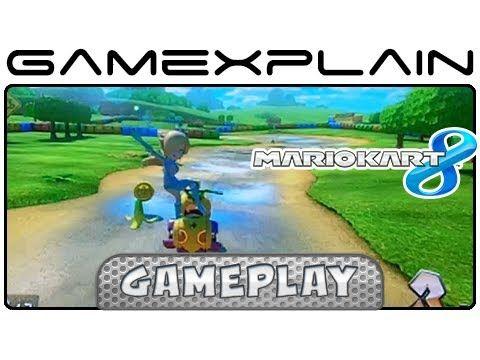 Mario Kart 8 Donut Plains 3 Snes Gameplay W Direct Audio Retro