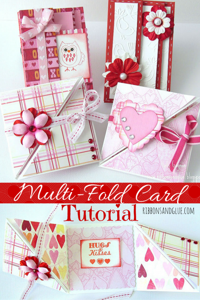 Valentines MultiFold Card Tutorial – How to Make Valentines Cards