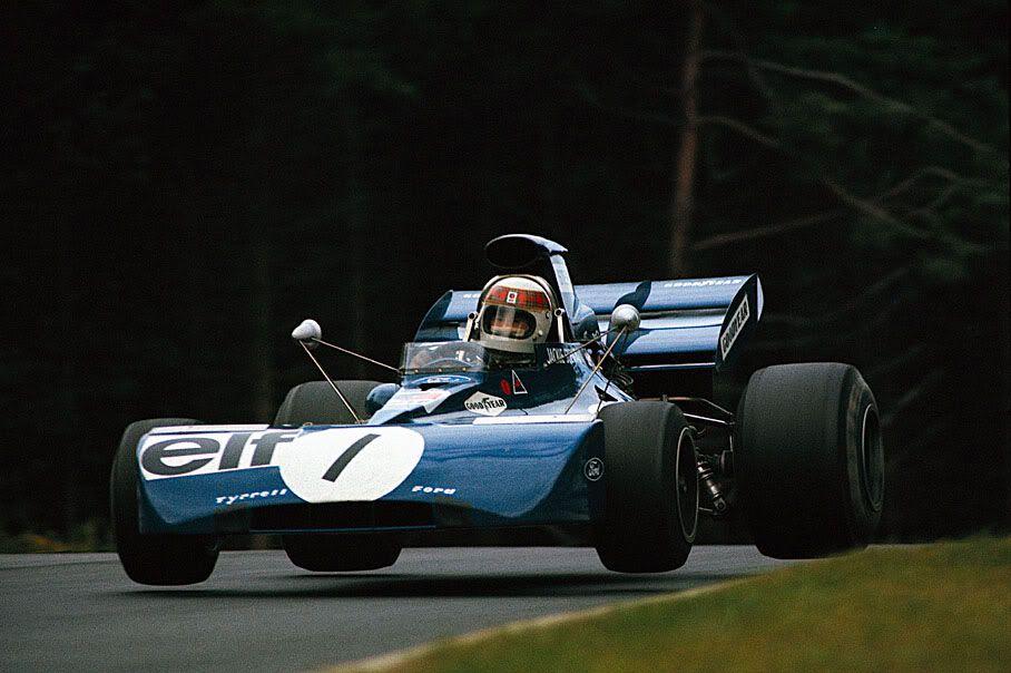 1972 Tyrrell 003 - Ford (Jackie Stewart)