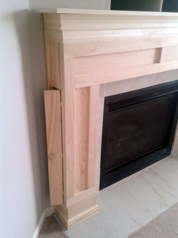 Fireplace DIY - Drab to Fab Fireplace makeover | Mantels, Marbles ...