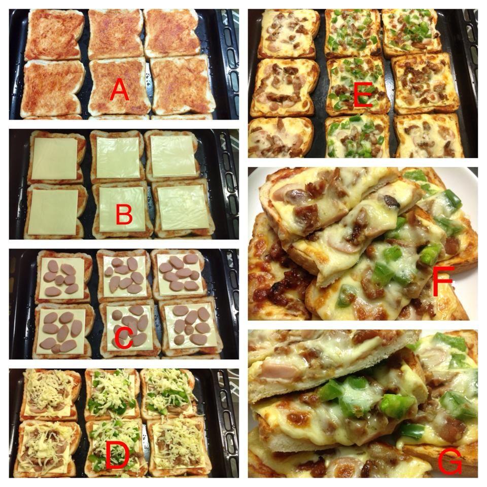 Resipi Mudah Buat Pizza Daripada Roti Gardenia With Images