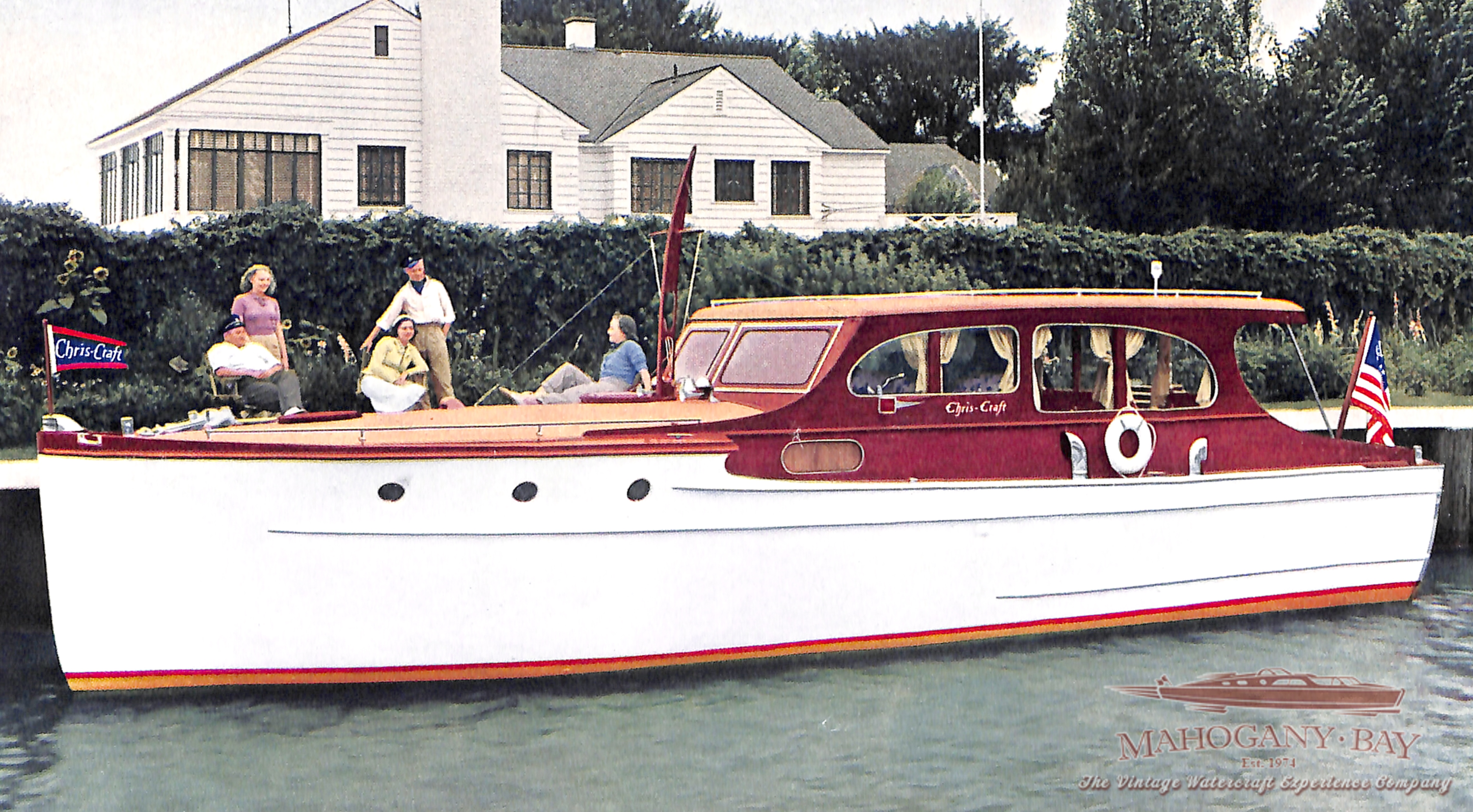 1939 Chris Craft 36' Cruiser | Classic Wooden Boats for Sale
