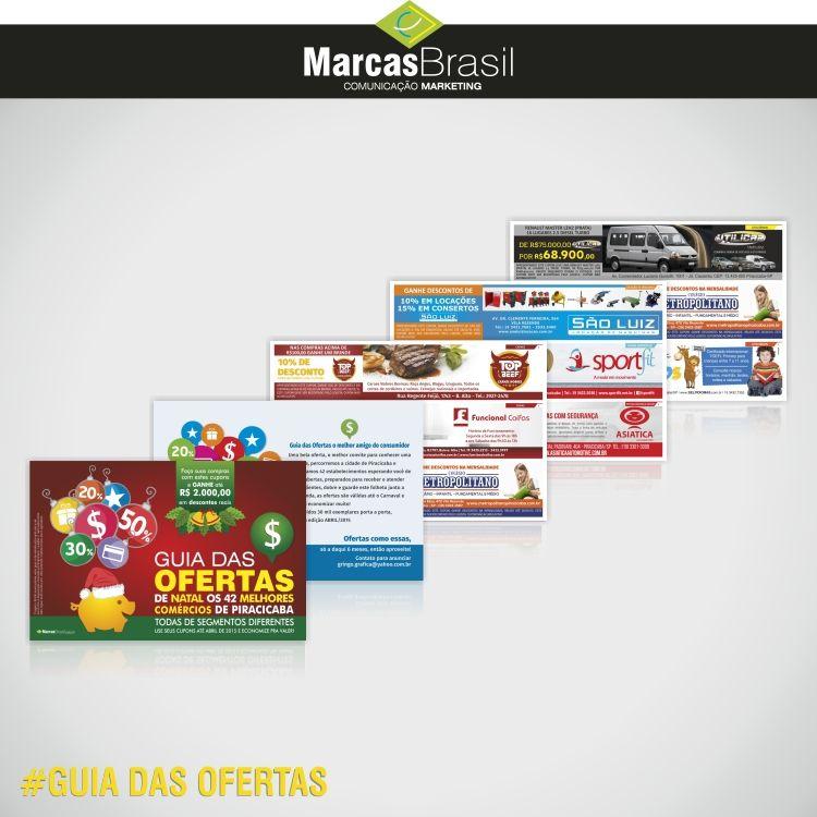 Guia das Ofertas – Piracicaba > Desenvolvimento do Guia das Ofertas de Piracicaba, incluindo arte dos anúncios e montagem <  #guiadasofertas #marcasbrasil #agenciamkt #publicidadeamericana