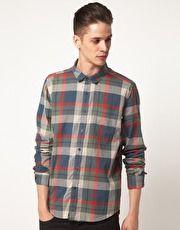 Cheap Monday Shirt with Check Print