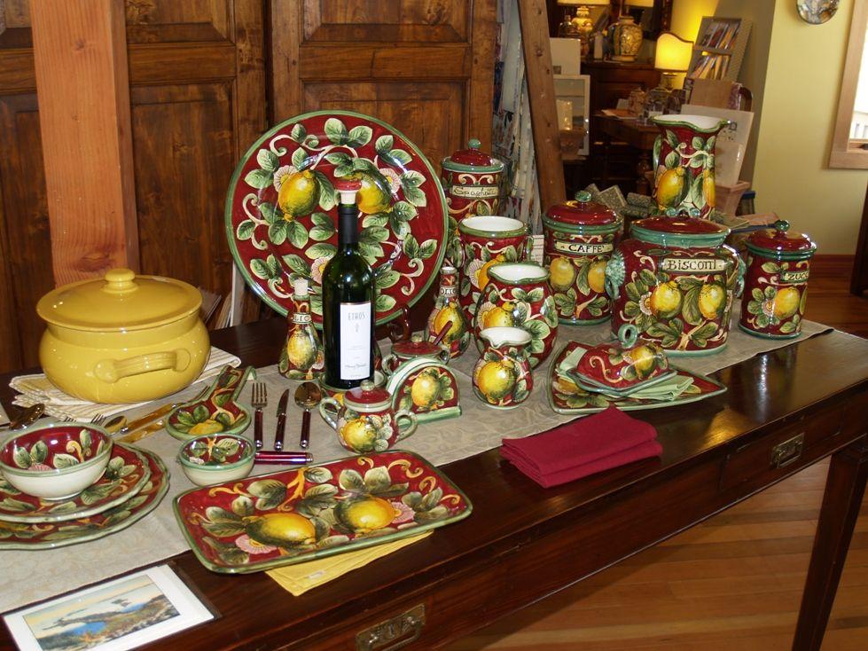 Authentic Italian Linens, Paper and Italian Ceramics Store of ...