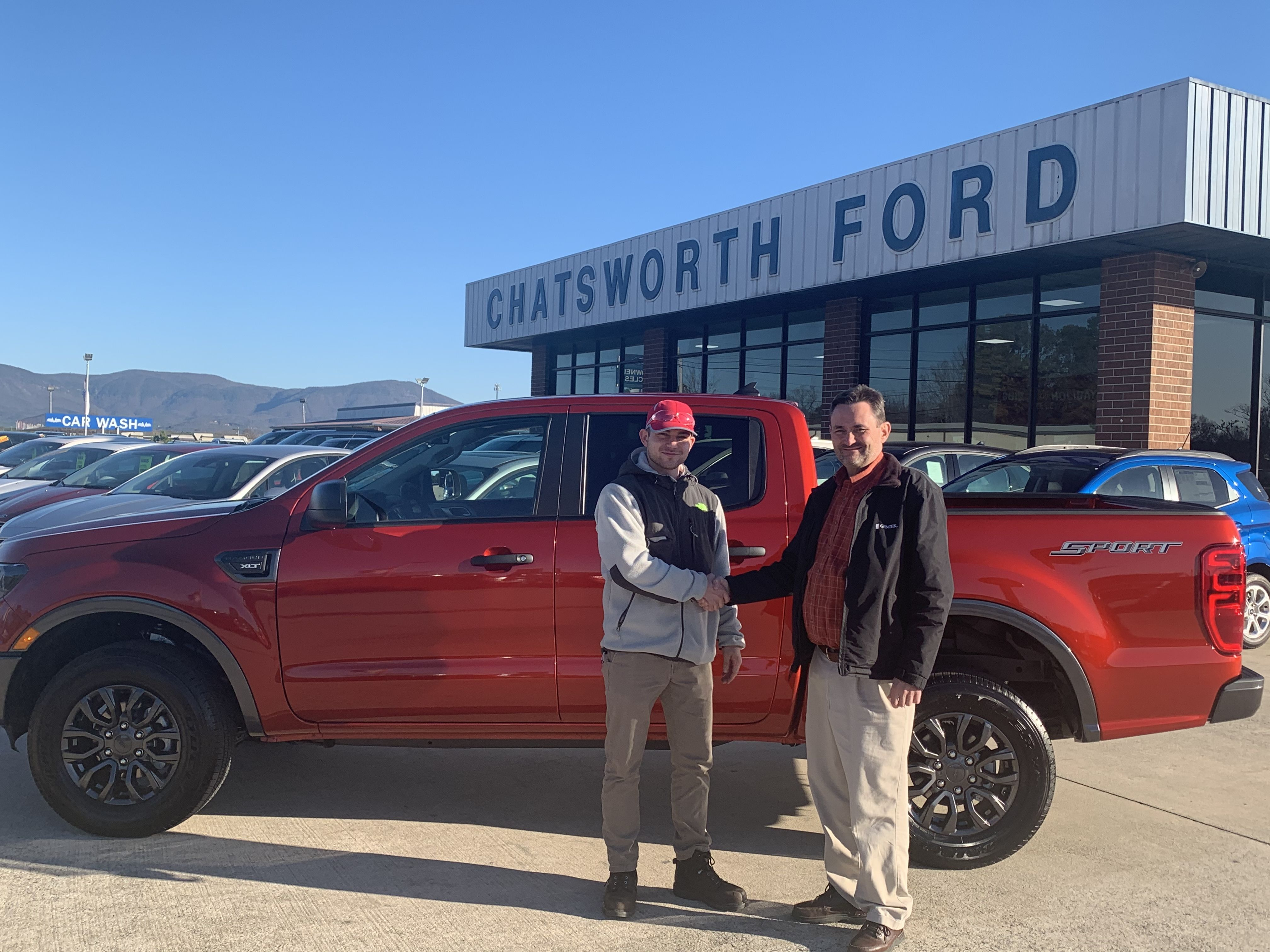 congratulations matthew miller of chatsworth ga on your new 2019 ranger sold by rex kilpatrick we appreciate your business in 2020 ford news chatsworth car ford pinterest