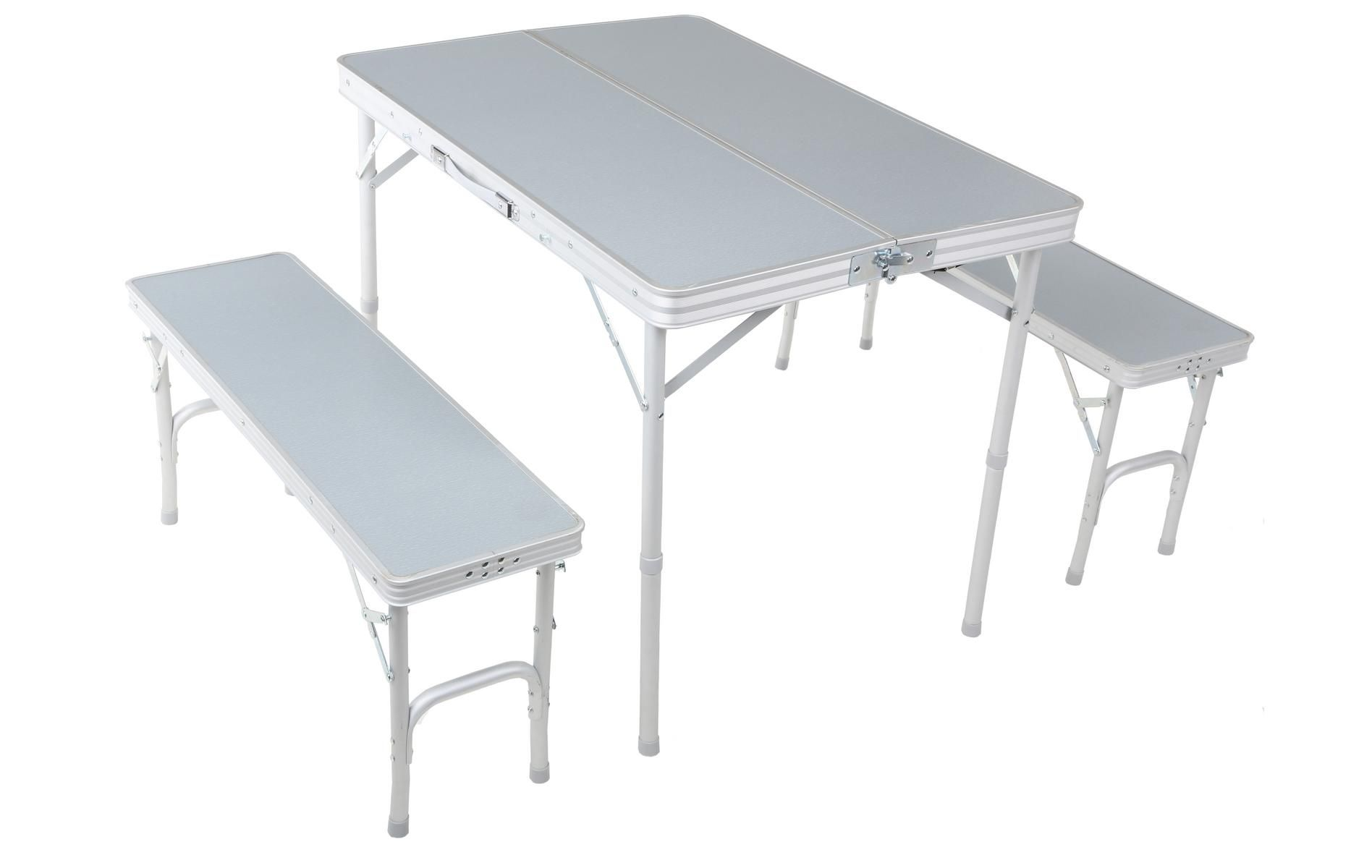 Urban Escape Folding table and Bench Set | shoot supplies ...