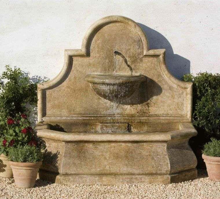 Fontaine Murale Exterieure Pour Jardin Terrasse Et Piscine
