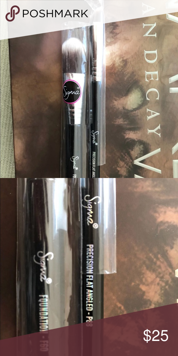 Sigma Brushes NEW NWT Sigma brushes, Makeup tools