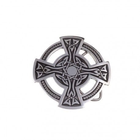 c8c0b84590ee http   www.museesdumonde.com ext 16X9600 pid 5627 Boucle de ceinture - Croix  Celtique. Travail original pour cette croix, symbole du lien entre le  royaume ...
