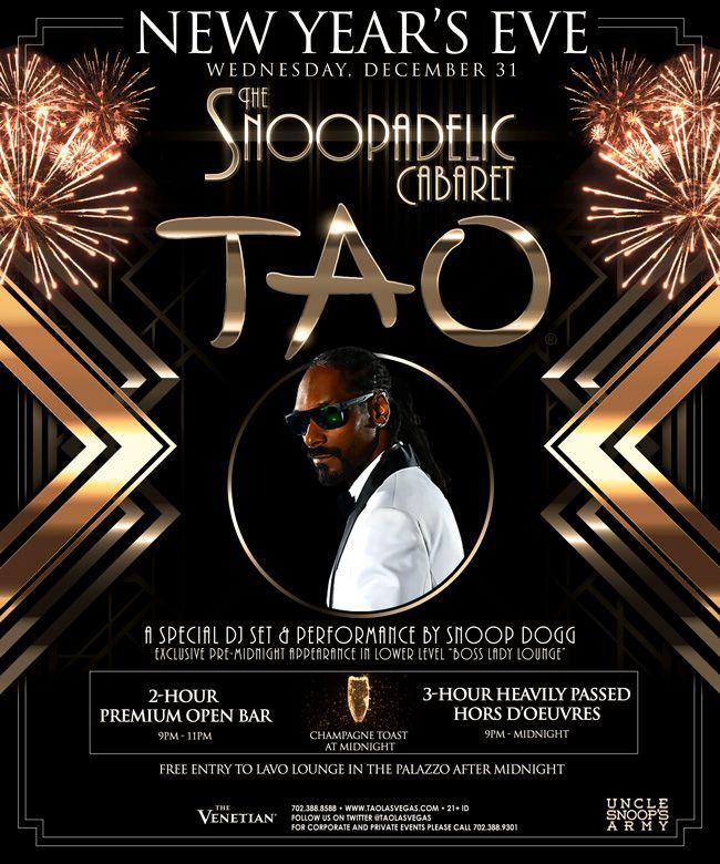 Tao New Year S Eve Announcement 24 7 Las Vegas Vegas New Years Tao Las Vegas Las Vegas Nightlife