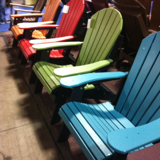 What Are Pool Chairs Made Out Of High End Folding By A Local Omish Community From Recycled Plastic