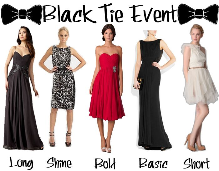 9a95502a880 What to Wear to a Black-Tie Event for Women