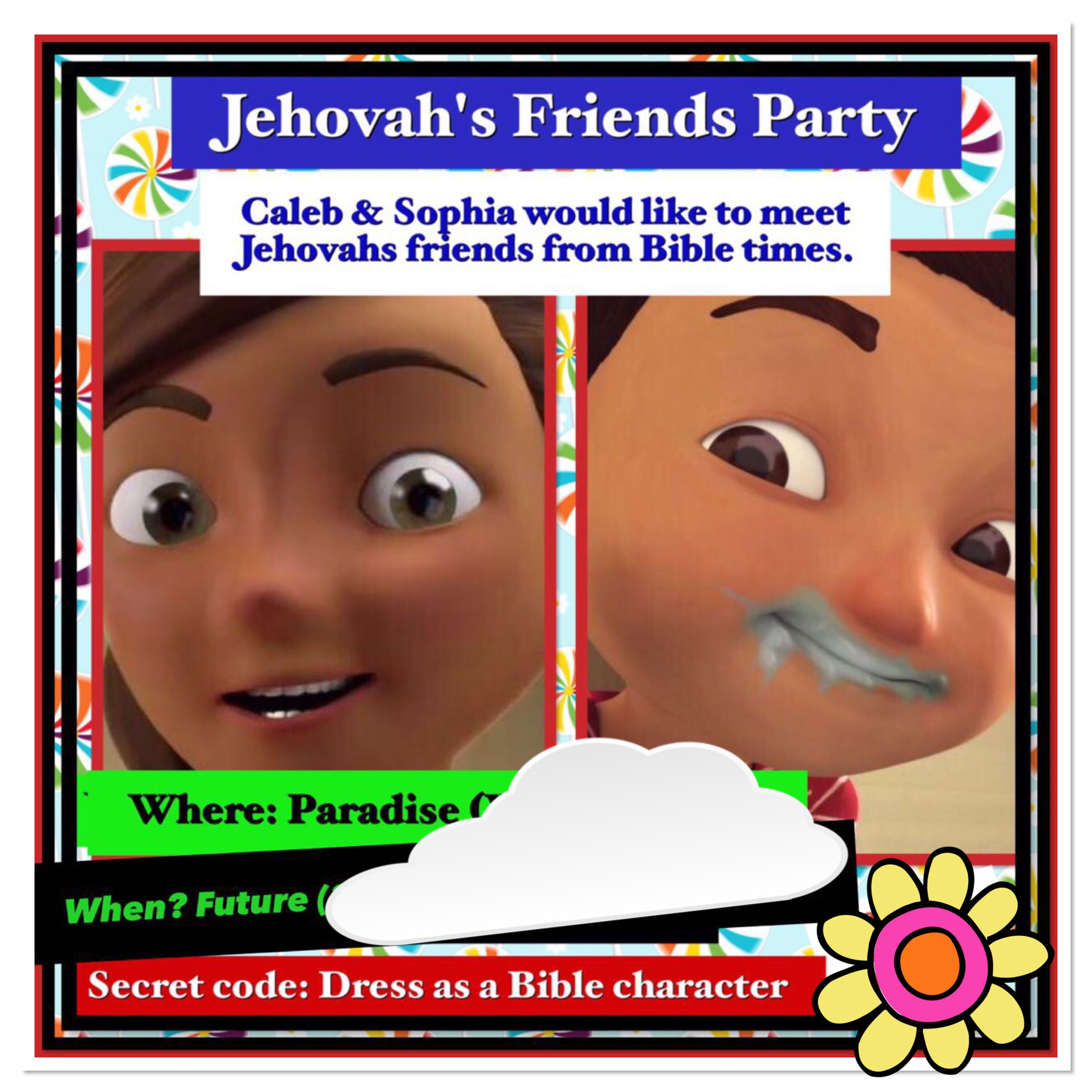 Invite To Our Caleb And Sophia Party