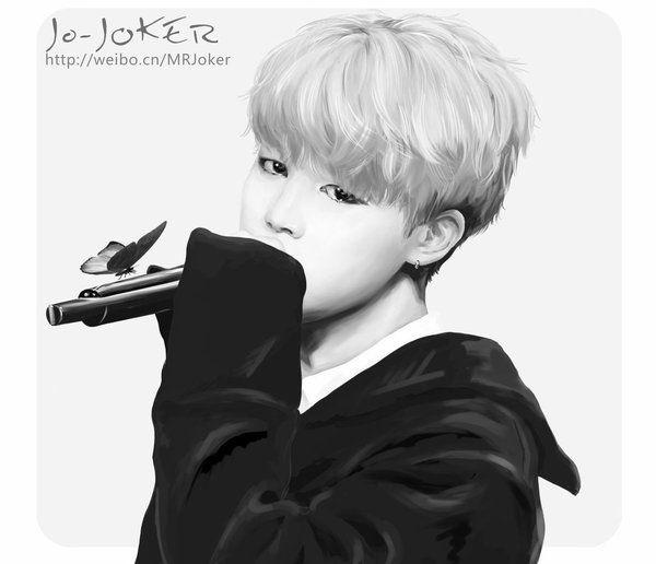 BTS Jimin Fanart South Korea Addict Pinterest More